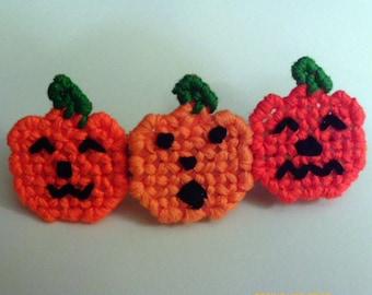 Pumpkin Patch Barrette A Ghostgap Design