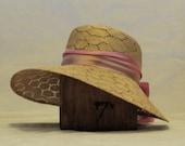 """Basket Weave Garden Hat, Size 22.5"""""""
