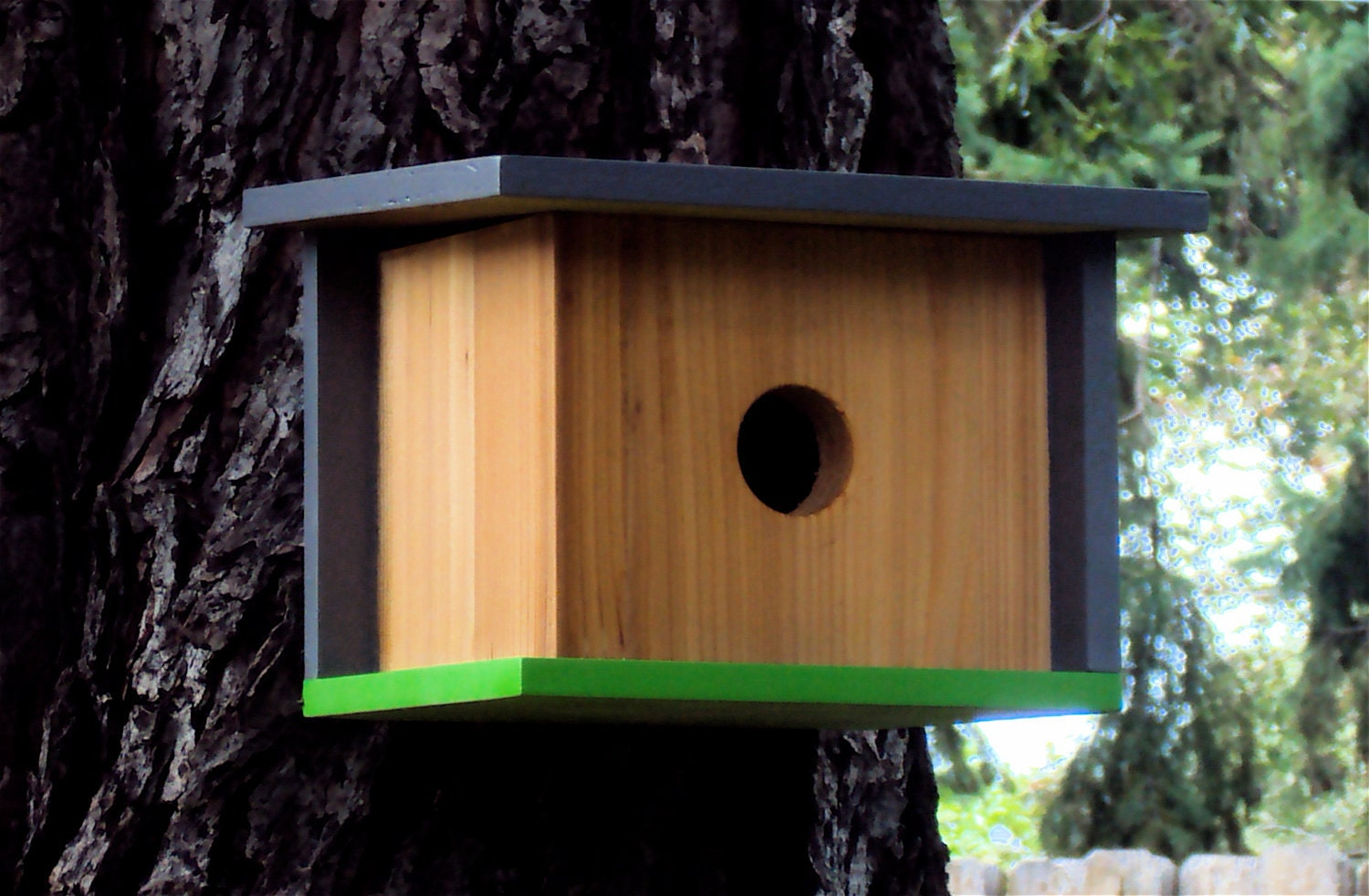 Case Study Prefab: Modern Birdhouse in Grey and by ...