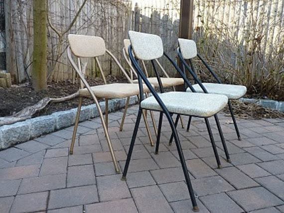RETRO Mid Century Modern Folding PATIO chairs