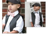 Little Boy Bow Tie INSTANT DOWNLOAD Pattern - Instructions for sewing a Custom Fit, All Sizes - PDF Pattern - Tutorial
