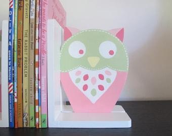 lovely owl bookends for girls