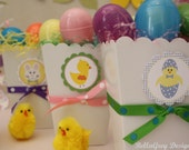 CUSTOM Favor Tags - Spring is in the Air Easter Collection - BellaGrey Designs