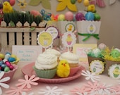 Easter Spring is in the Air Bunny Party Food Labels