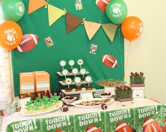 Football Party Collection Printable Complete Collection