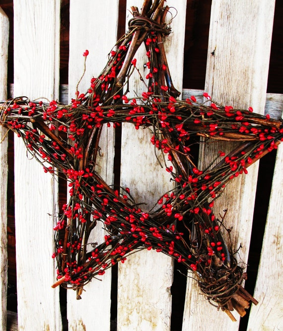 Items similar to 4th of july decor summer home decor for Star decorations for home