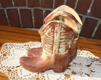 McCoy Boot Planter--These boots are not made for walking