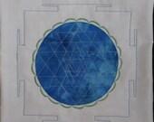 Lakshmi Yantra/Prayer Flag