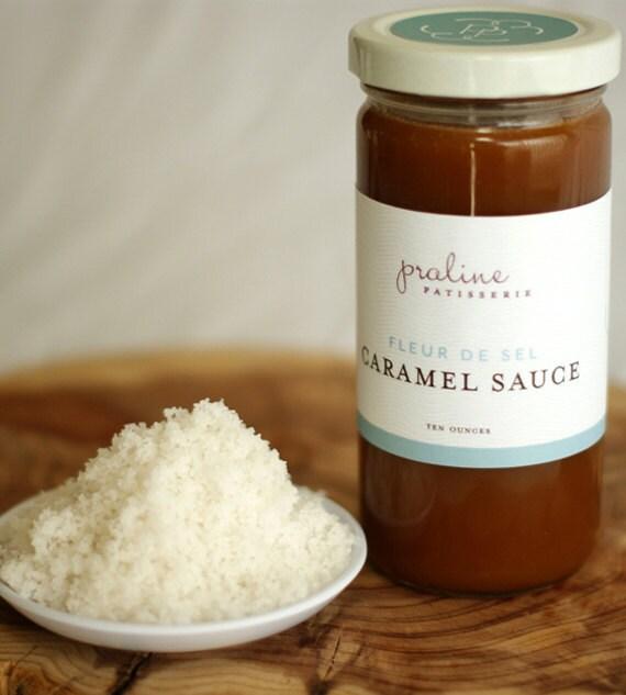 Items similar to Fleur de Sel Caramel Sauce on Etsy