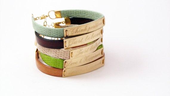 Personalized father gift Personalized wish bracelet men bracelete  Leather bracelet personalized men bracelet Latitude Longitude