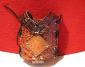 Leather Hip Flask Holster
