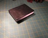 Handmade Leather Bound Journal or Sketchbook