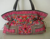 Tote -Tribal-Handmade Ethnic Hmong Bag HB-266