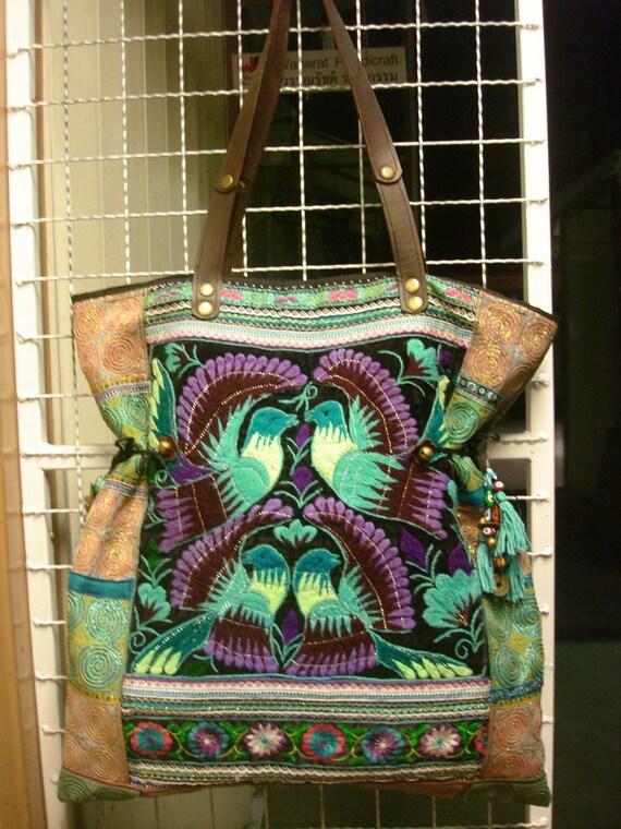 Vintage Handmade Ethnic Hmong Bag HB-105