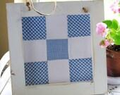 Quilt Block-Wood Framed