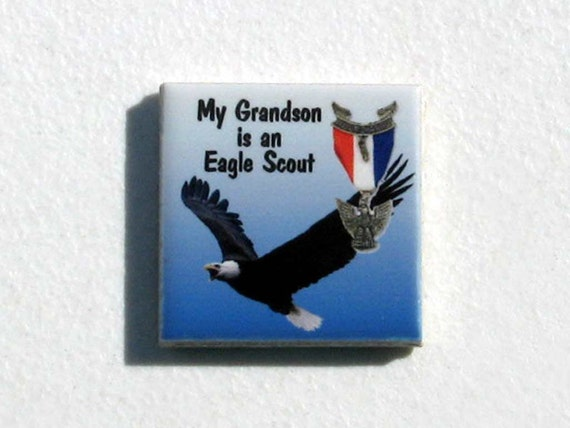 Eagle Scout Grandparents Refrigerator Magnet - Great Gift for Eagle Scouts Grandparents