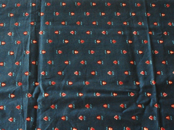 Cotton Fabric VIP Prints Cranston Prints Works Co 1 1/2 Yard