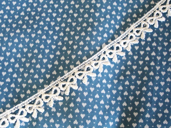 """Venice Lace Embroidery Trim In Off White Color 1/2"""" Wide."""