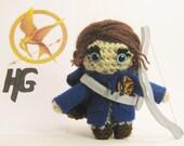 Hunger Games Katniss Everdeen Arena Version Crochet Amigurumi Doll