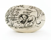 "Chronicles of Narnia - C. S. Lewis ""Aslan"" - Decorative Box - Trinket Box - Small Box - Literary Gift"