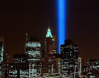 9/11 Tribute in Lights, NYC