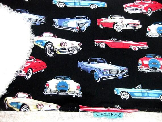 Girl Baby Kids Boy Retro Classic Vintage Cars Bedding Crib