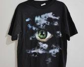 Vintage 90s X FILES Eye Ball Shirt
