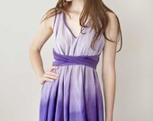 Purple Dress Dipdyed 'Daydreamer Dress in Lilac'
