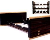 Ebony  Quartered - Modular Wine Rack