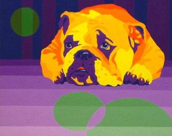 Bulldog Art - Birrcher