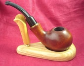 FANTASTIC and UNUSUAL Tobaco Smoking Briar PIPE  with 9 mm filter system
