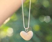 Beach Heart Necklace