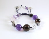 Earth Energy Intuition Crystal bracelet. Made to order.
