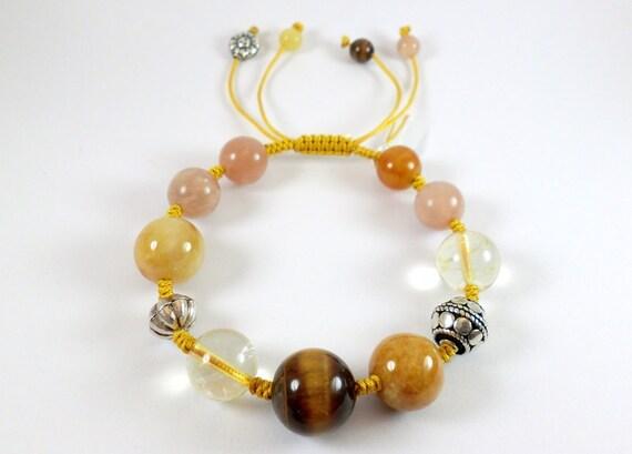 Crystal bracelet  Happiness &Joy .