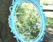 Mirror Vintage Hollywood Regency Syroco Antique