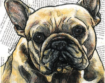 French Bulldog 8x10 Print