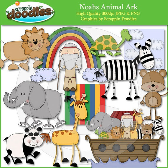 Noahs Animal Ark Clip Art