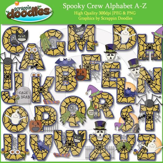 Spooky Crew Alphabet