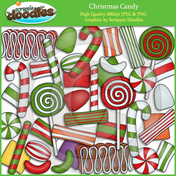 paintings christmas candy - photo #13