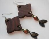 WINTER SALE: Tribal Inspired Wooden Earrings