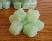 Apple Martini Sugar Scrub Cubes