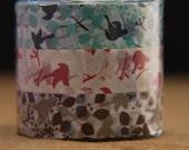 washi tape / masking tapes - set of 3 - 15m long