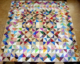 STARS in STARS  Quilt Top