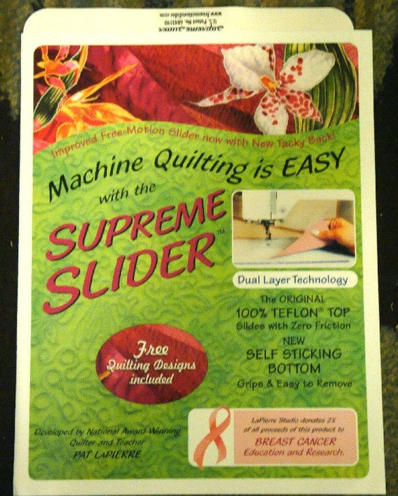 Quilting Slider Mat: SUPREME SLIDER For Free Motion Quilting Free By Quiltingfamily