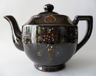 Vintage Ceramic Tea Pot - - Price Reduced