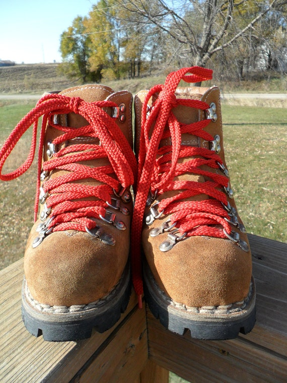 Vintage Colorado Steel Toe Hiking Boots Womens Size 7