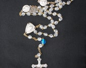 Reborn Crystal Rosary - All Proceeds Donated to Rachel's Vineyard Ministries