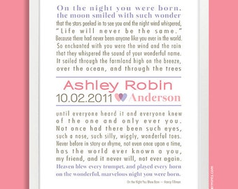 Nursery Decor, Storybook Poster, Personalized Nursery Wall Print (personalized custom story or song)
