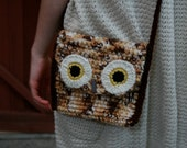 Wise Owl Medium Purse / Clutch