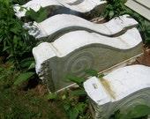 european architectural salavage,art deco,italian carrera marble corbels,antique corbels, antique brackets